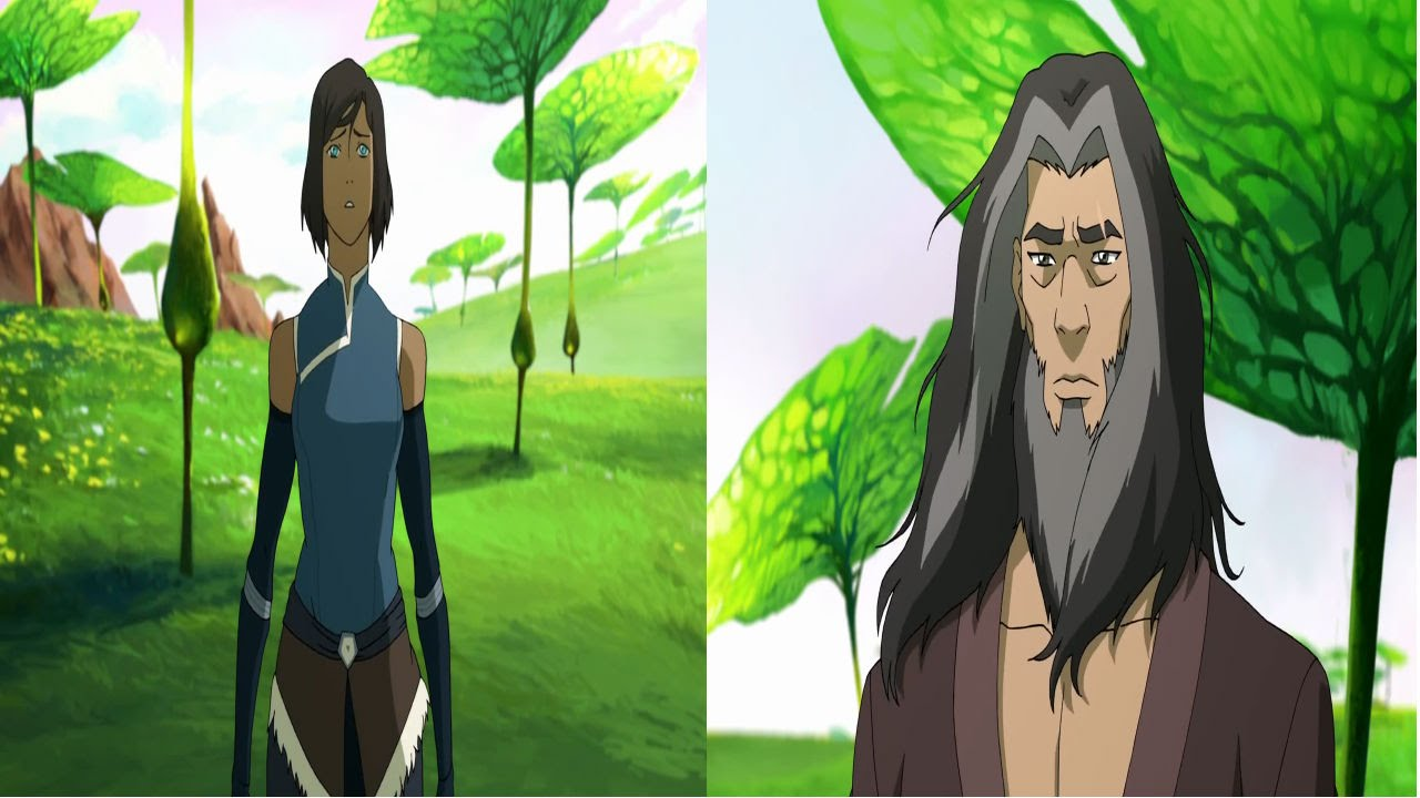 Anime Avatar Korra Book 4 Episode 9