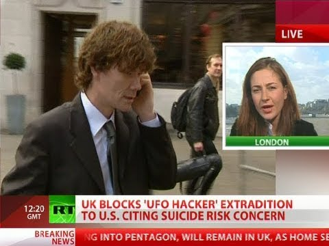 UK blocks 'UFO-hacker' Gary McKinnon US extradition