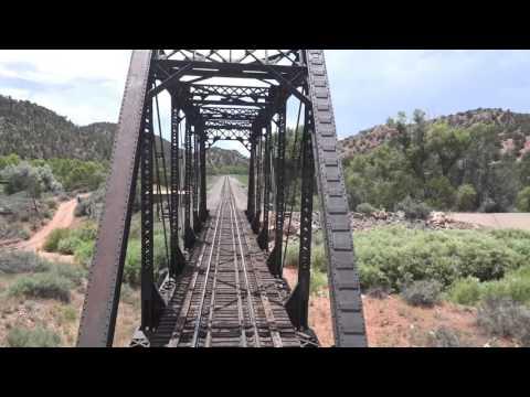Riding Amtrak Southwest Chief -  7/20/16 4K