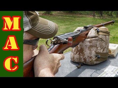 Shooting the Swiss M1911 Rifle and Carbine