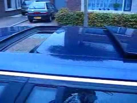 Working Bmw E34 Double Sunroof Youtube