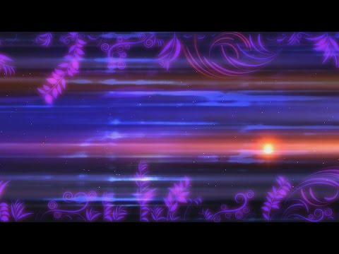4K Background Romantic Glow Animation SunShining Horizion for Lovers UHD HD 1080p 2160p