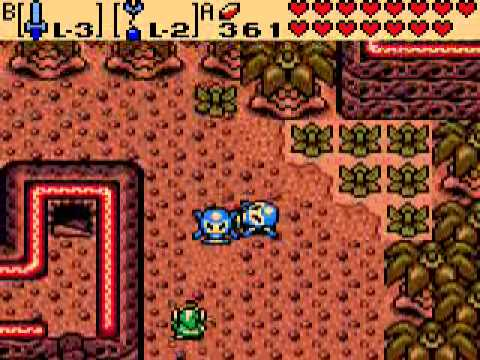 Let's Play Legend of Zelda: Oracle of Ages (Linked) Part 26: Trials of the Tokay