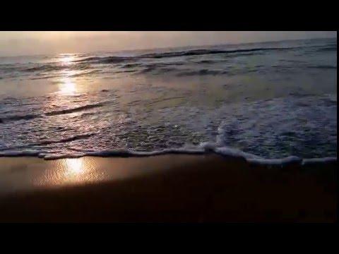 Beauty of sea   calm sea waves   calm sea video