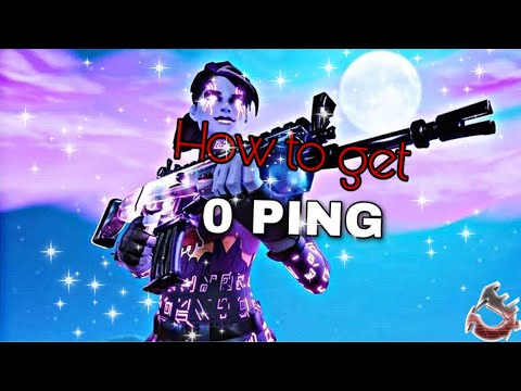 How To Get 0 Ping In FORTNITE MOBILE , For Free (3 Steps)