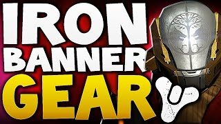 Destiny - Iron Banner Gear 28th April + RANK 5 GLITCH !!!