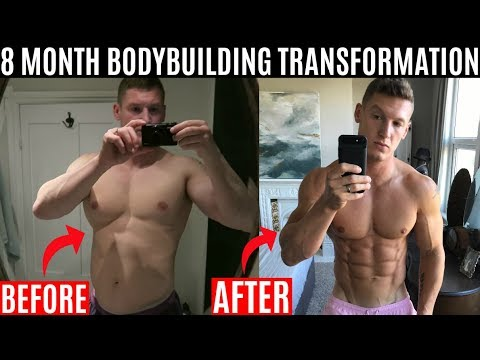 My 8 Month Natural Body Transformation | Powerlifting vs Bodybuilding