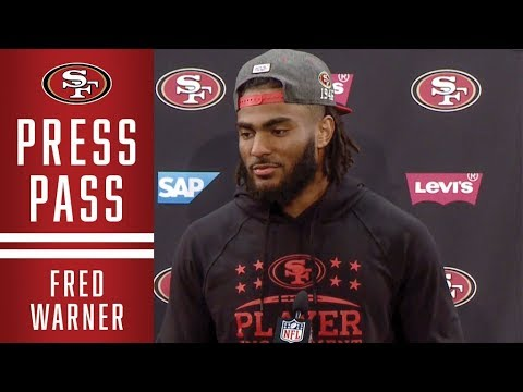 Fred Warner Talks Film Study of Andy Reid's System in Kansas City | 49ers
