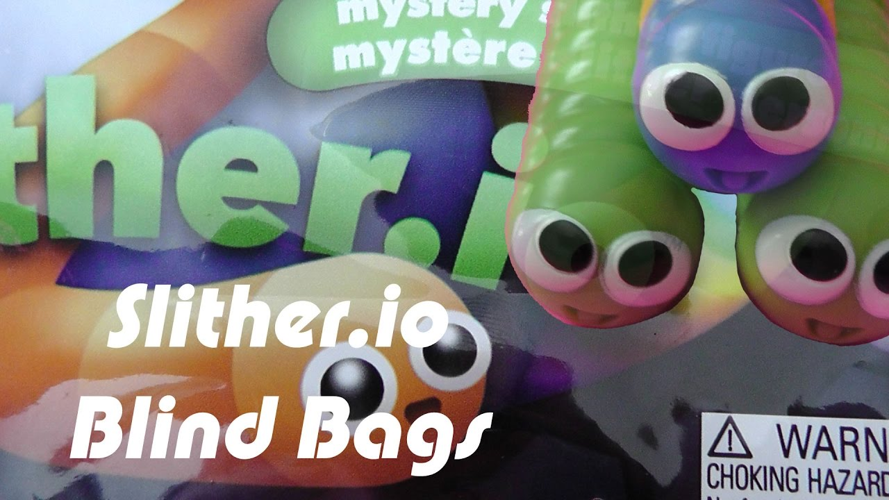 Slither Io Blind Bags Youtube