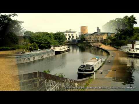 PADDINGTON BASIN , GRAND UNION CANAL , MUSLIM DEMO