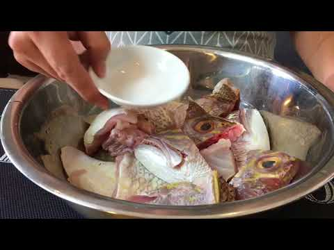 SECRET REVEALED! Easy Way To Remove FIshy Smell From Fish Head & How To Clean Chicken Feet
