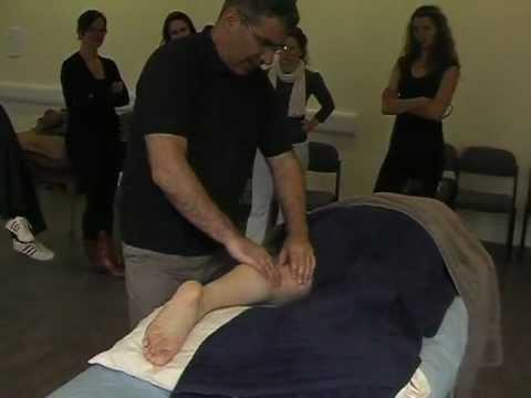 Deep tissue lower body massage techniques