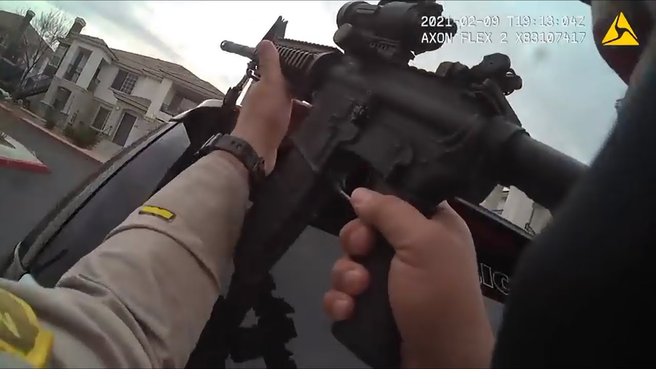 Body Cam Footage Of Police Shooting Where Suspect Dies From Self Inflicted Bullet Wound