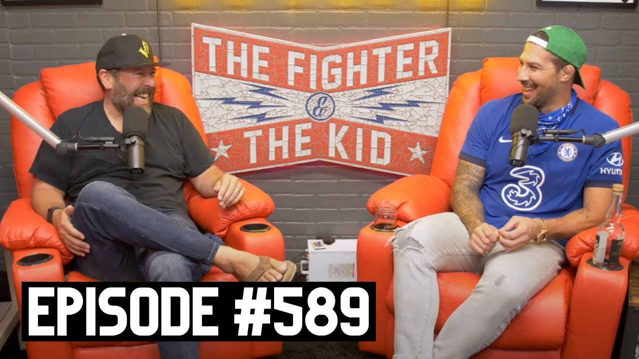 The Fighter and The Kid - Episode 589: Bert Kreischer