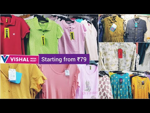 Vishal mega mart tour/ Tops, kurtis, t-shirts/ Buy 1Get 1/ Spl offers/ discounts