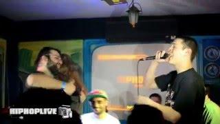 MCoco vs Hootz HipHopLive Battle MC Brasov 01.03.2014