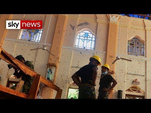 British nationals 'caught up' in Sri Lanka attacks