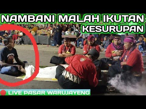 NAMBANI MALAH MELOK KESURUPAN!!! LEGOWO PUTRO LIVE PASAR WARUJAYENG
