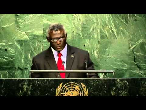 UN General Assembly Debate of the 70th Session - Solomon Islands