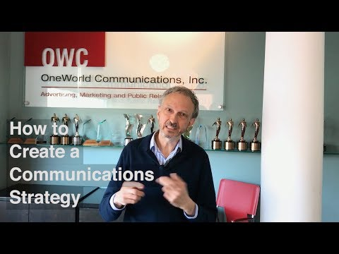 1─How To Create A Communications Strategy