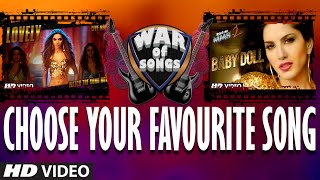 War of Songs - Lovely OR Baby Doll   Vote Now   Deepika Padukone, Sunny Leone