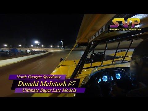 Donald McIntosh #7 / In Car Camera / N  Georgia Speedway / 3-5-16