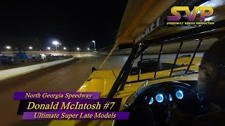 North Georgia Speedway | Donald McIntosh | In-Car Camera