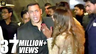 Salman Khan INSULTS Reporter For Asking About His Marriage At Bipasha's Wedding 2016 thumbnail