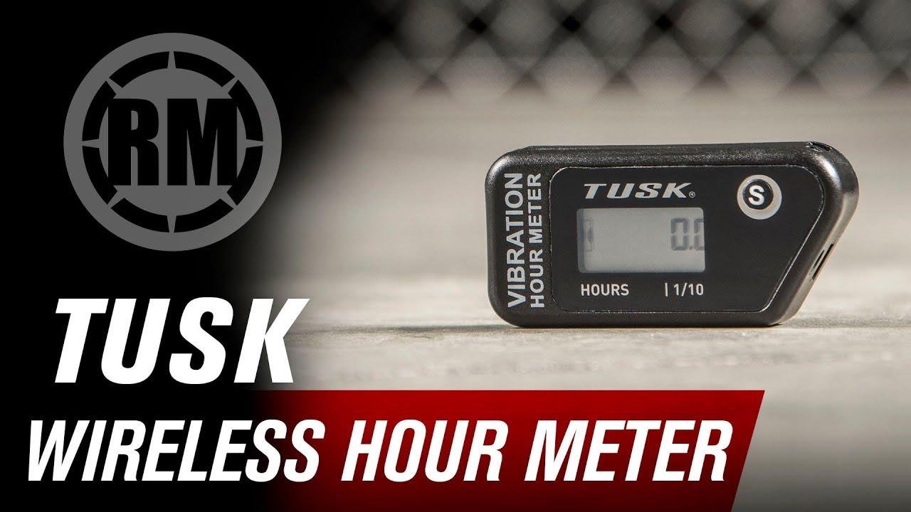 Tusk Motorcycle or ATV Wireless Hour Meter