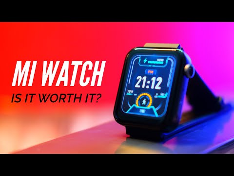 Xiaomi Mi Watch FULL Review: MUST WATCH BEFORE YOU BUY!
