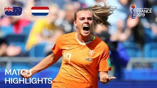 New Zealand v Netherlands - FIFA Women's World Cup France 2019™