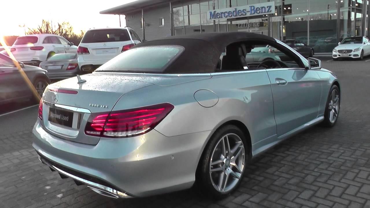 Mercedes Benz E Class Convertible Amg