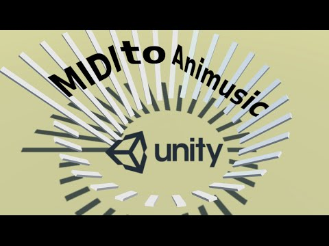 Animusic clone in unity3D, plays any midi track (source code download)