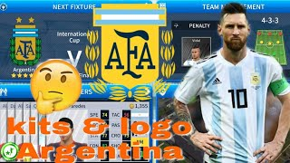 Download How To Hack Argentina Team In Dls 19 Kits Logo