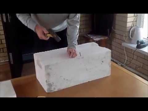 Тестируем газоблок в бытовых условиях