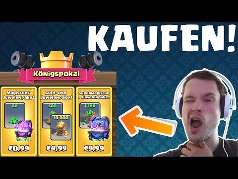 KÖNIGSPOKAL - SONDERANGEBOTE KAUFEN!    CLASH ROYALE    Let's Play CR [Deutsch HD+]
