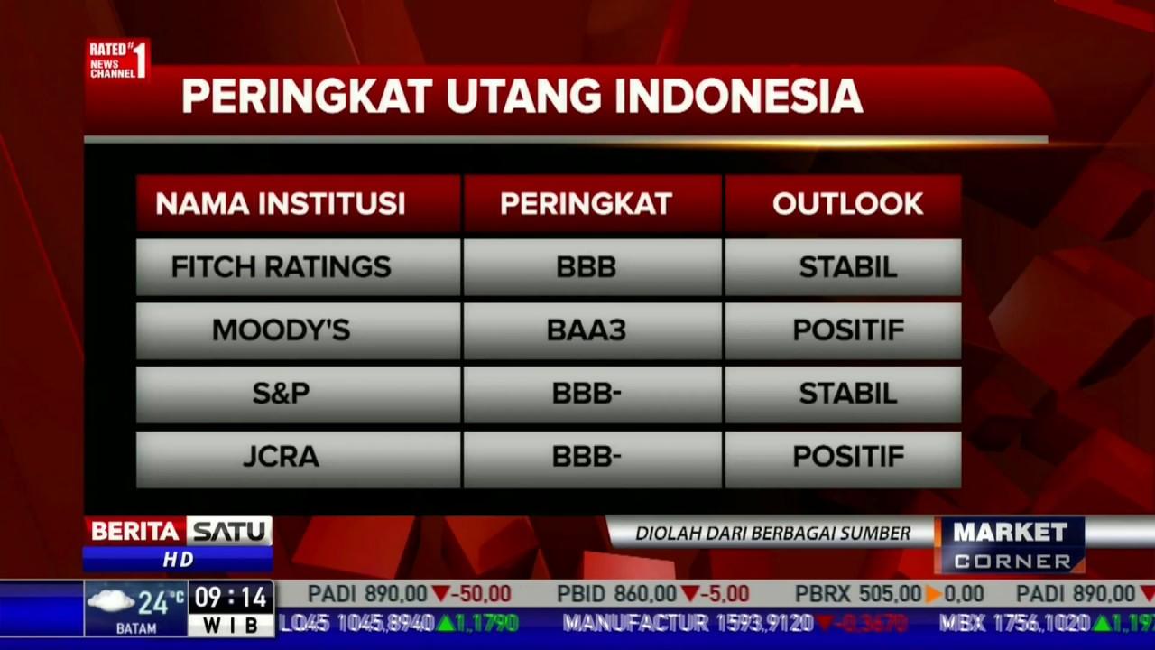 Kenaikan Peringkat Utang Indonesia Dipengaruhi Ketahanan Ekonomi - YouTube