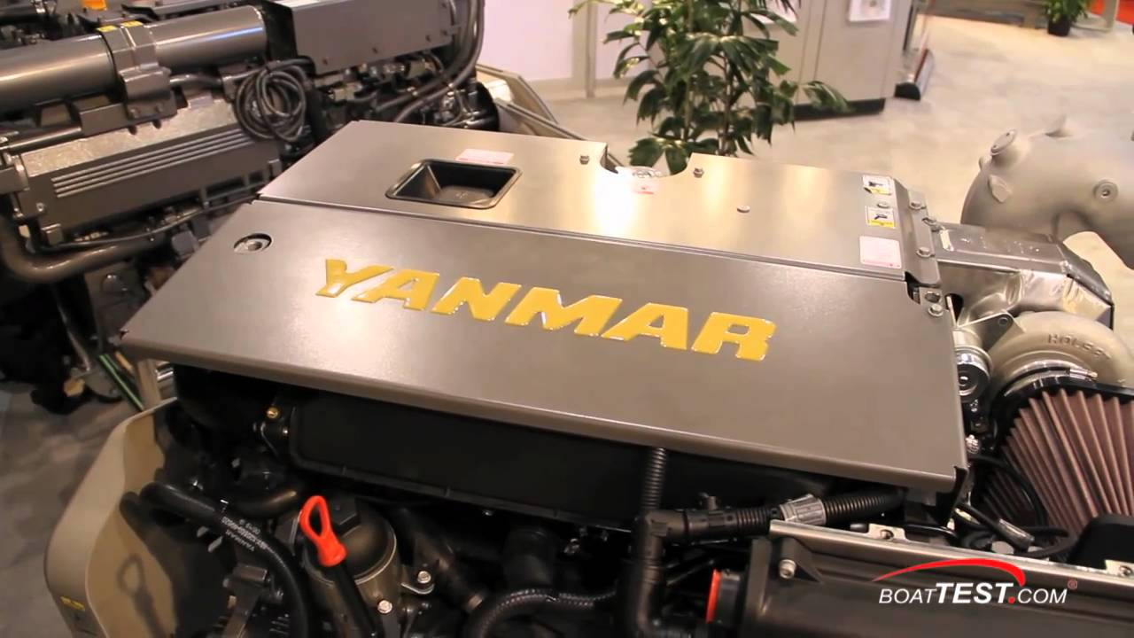 Yanmar 6by2 260z 2011 Engine Detail Reviews By Boattestcom Youtube Fuel Filter
