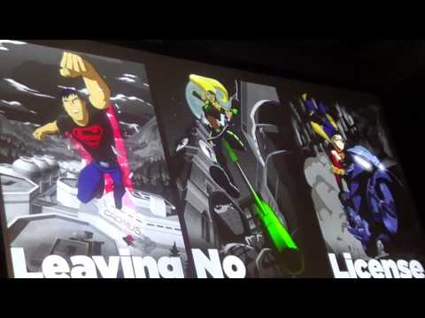 San Diego Comic-con 2017 Young Justice Season 3 Panel Part 2