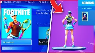 "* NUEVO * LEAKED VOLLEY GIRL SET & NEW ""SNOWFALL"" SKIN REVEALED! (¡NUEVAs pieles con fugas Fortnite!)"
