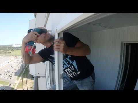 Крепление москитной сетки на пластиковые окна своими руками видео