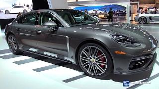 2017 Porsche Panamera Turbo Executive - Exterior and Interior Walkaround - 2017 Chicago Auto Show