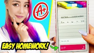 21 Study Hacks For School You Should Know! *IMPROVE YOUR GRADES EASILY* thumbnail