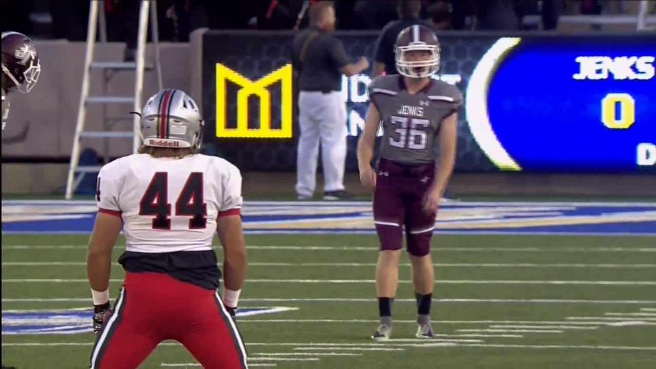 game replay jenks trojans vs union redskins backyard bowl 2017