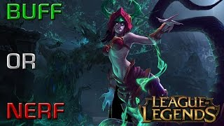 LoL: BUFF OR NERF - Cassiopeia (Patch 4.16)[GER]