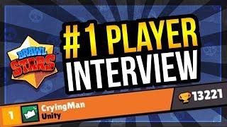 #1 Player Global Interview - CryingMan Tells All! [Brawl Stars]