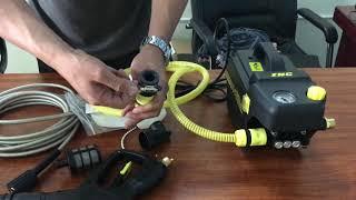 Hướng dẫn sử dụng máy rửa xe ZNC S6 có chỉnh áp