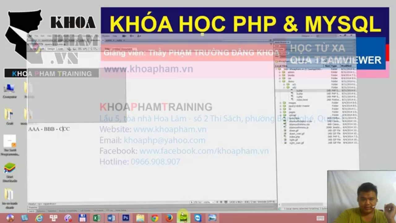Lập trình PHP - Bài 26: Ajax - Ứng dụng Ajax vào ràng buộc 2 list/menu trang quản lí tin