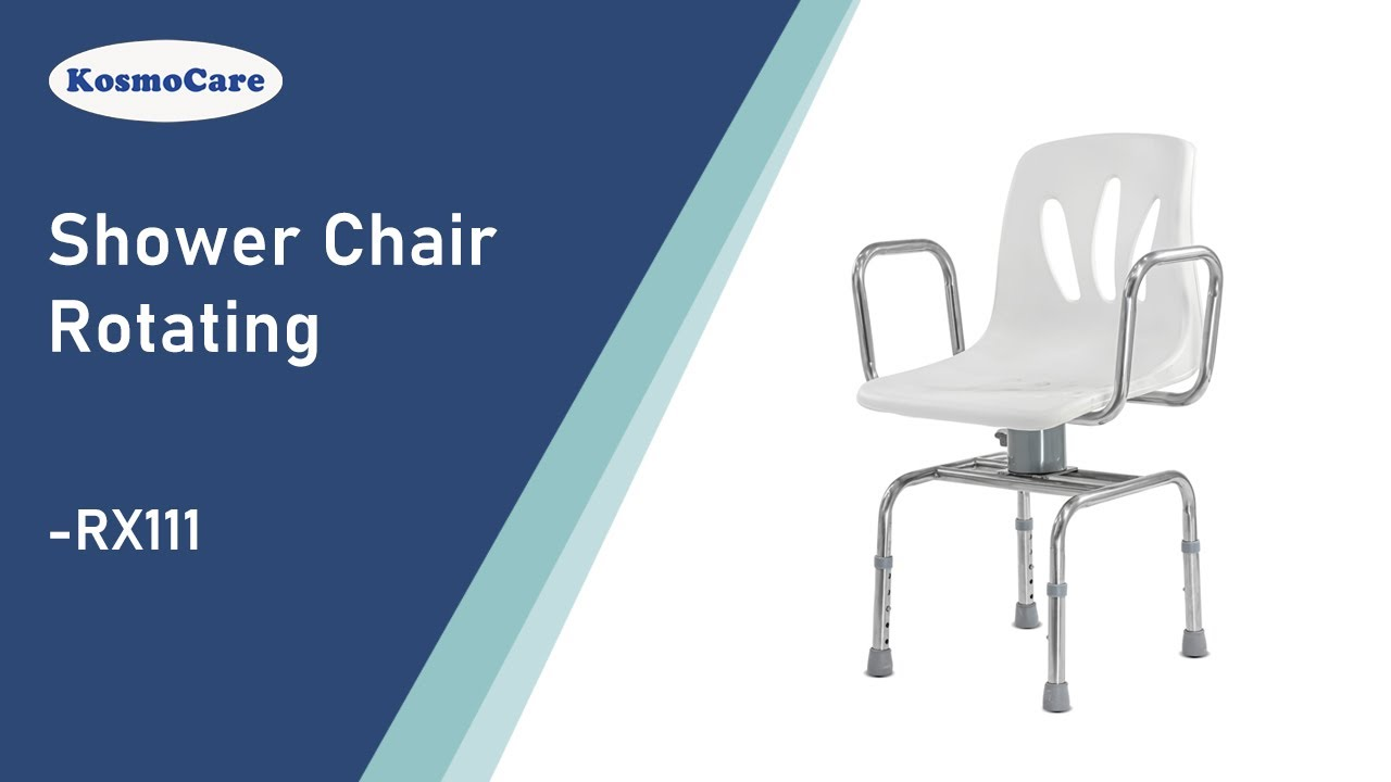 KosmoCare Premium Imported Height Adjustable Rotating Shower chair ...
