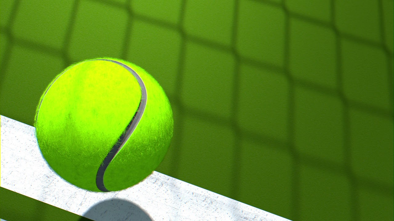 Free Background Video Loop Tennis Ball Falling Youtube